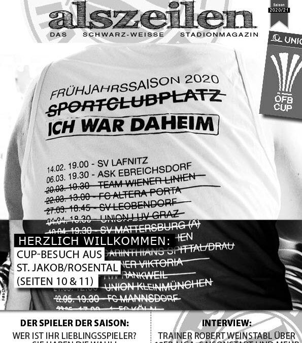 ÖFB-Cupstart: St. Jakob im Rosental zu Gast – alszeilen #1A 2020/21
