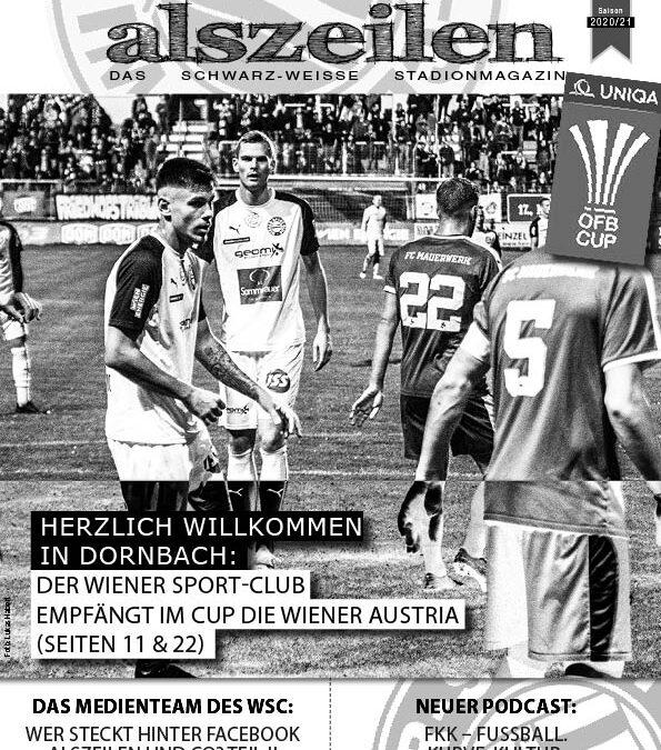 Die Austria zu Gast in Dornbach alszeilen #5a 2020/21